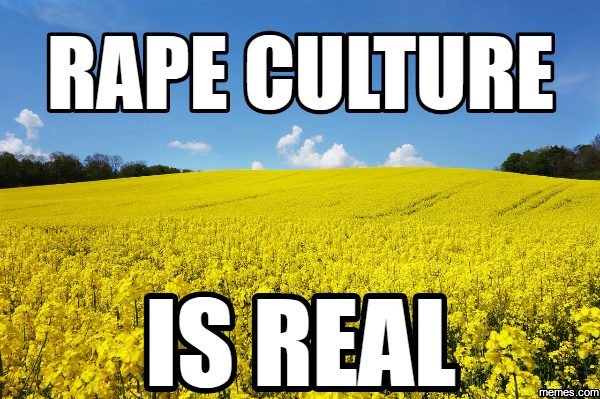 rape culture is real