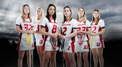 english lacrosse female team